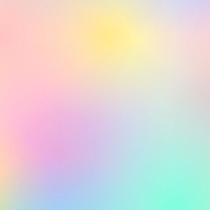 Rainbow Ombre Pale