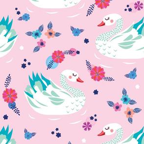Swan - Lilac
