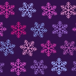 purple snowflake winter , ultraviolet, lilac,