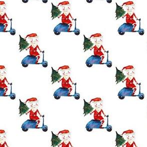 Biker-Santas