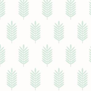 Wheat Fields / Small Mint Geo
