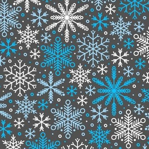 Season of Snow (Dark Blue)