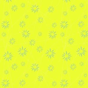 Yellow Starburst - Doll Scale