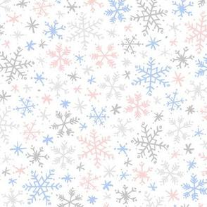 Snowfall (Rose Quartz and Serenity Light)