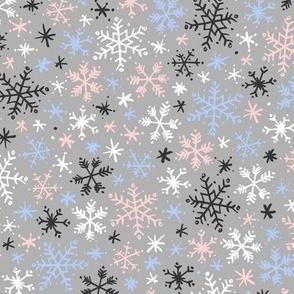Snowfall (Rose Quartz and Serenity)
