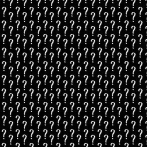 Question Mark Pattern - Reverse