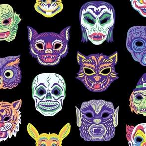 Halloween Masquerade in Black