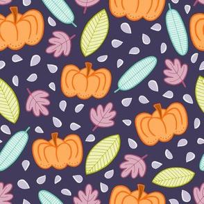 Pumpkins - purple