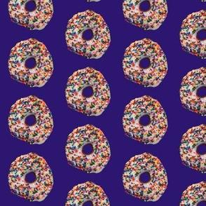 Doughnut on Purple
