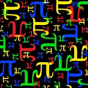 Pieces of Pi (Dark Primary)