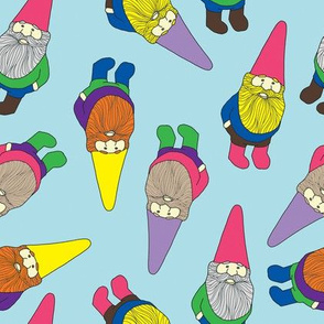 Garden Gnomes (blue)