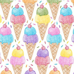 Crayon Ice Cream