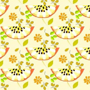 peachy apple slices