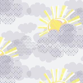 Sunshine on a Grey Day