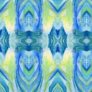 Cool Colors Kaleidoscope
