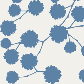 Blossoming - Dusky Blue
