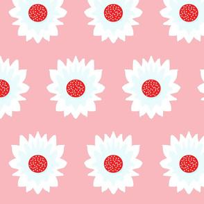 A Flower Named Alice (on pink)