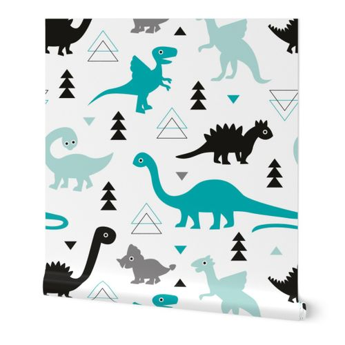 KIDS ANIMAL WALLPAPER DINOSAURS  JUNGLE UNICORN WHALES LIONS RABBITS