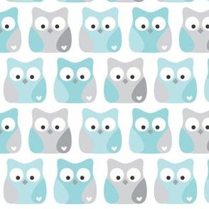 little one blues :: owls
