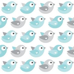 little one blues :: birds