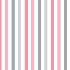 little one baby girl :: stripes vertical