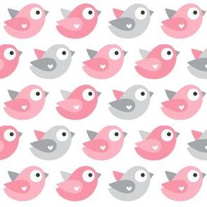 little one baby girl :: birds