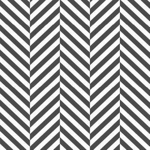 herringbone LG dark grey