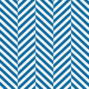 herringbone LG royal blue