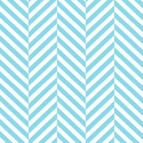 herringbone LG sky blue