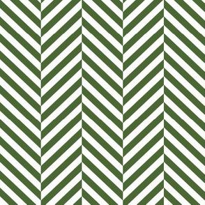 herringbone LG hunter green