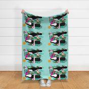 Fabric by the Yard tea towels // tea towel kitchen toucans cute birds tea  towels kitchen tea towel fabric toucan tropical birds cut and sew fabric