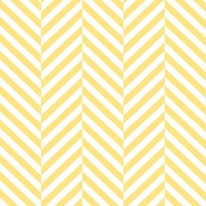 herringbone LG sunshine yellow