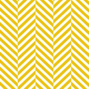 herringbone LG mustard yellow
