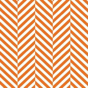 herringbone LG orange