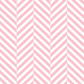 herringbone LG light pink