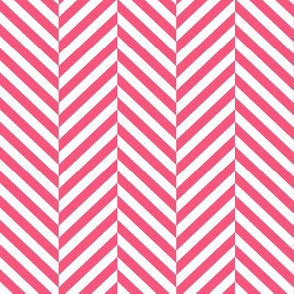 herringbone LG hot pink