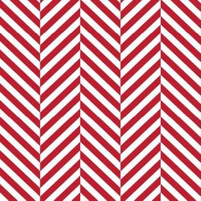 herringbone LG red
