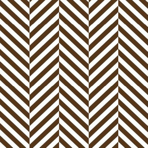 herringbone LG brown