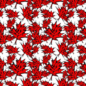 IB Red Maple Leaves (small scale)
