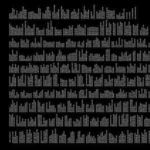 Prose Edda's Havamal in Black & White