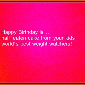 Happy Birthday Mom Haiku