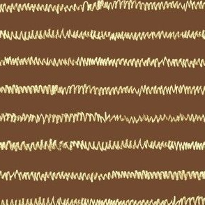 chalk mini-stripe on summer brown