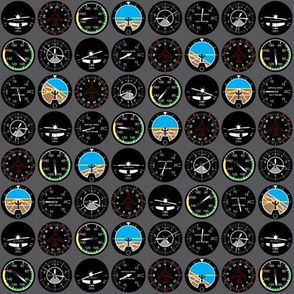 Flight Instruments (Extra Small)