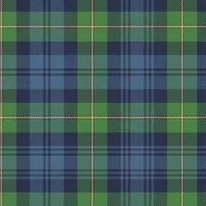 "Gordon Highlanders tartan, 7"" ancient colors"