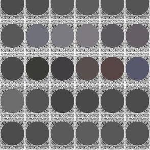 Grey Palette ~ Peacoquette Designs