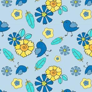 3-1-Baby_Bird_Flowers-Brite_Yellow_Blue-200