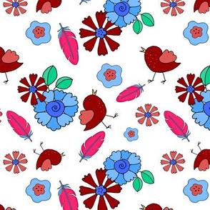 7_TK-1-Baby_Bird_Flowers-Red_Blue-200