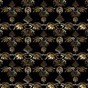 Golden Damask Style