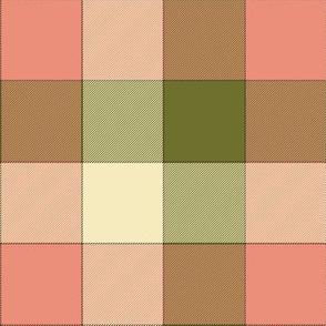 "paneled tartan check - 6"" - dim sum"