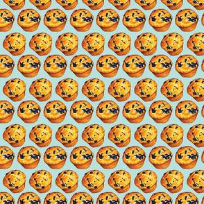 Blueberry Muffin Pattern
